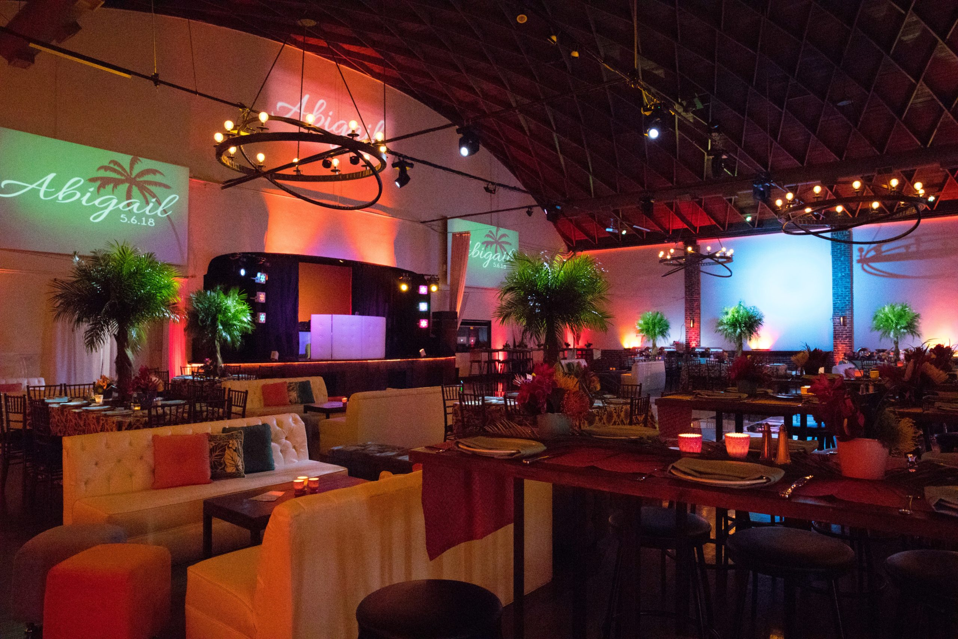 corporate party venue