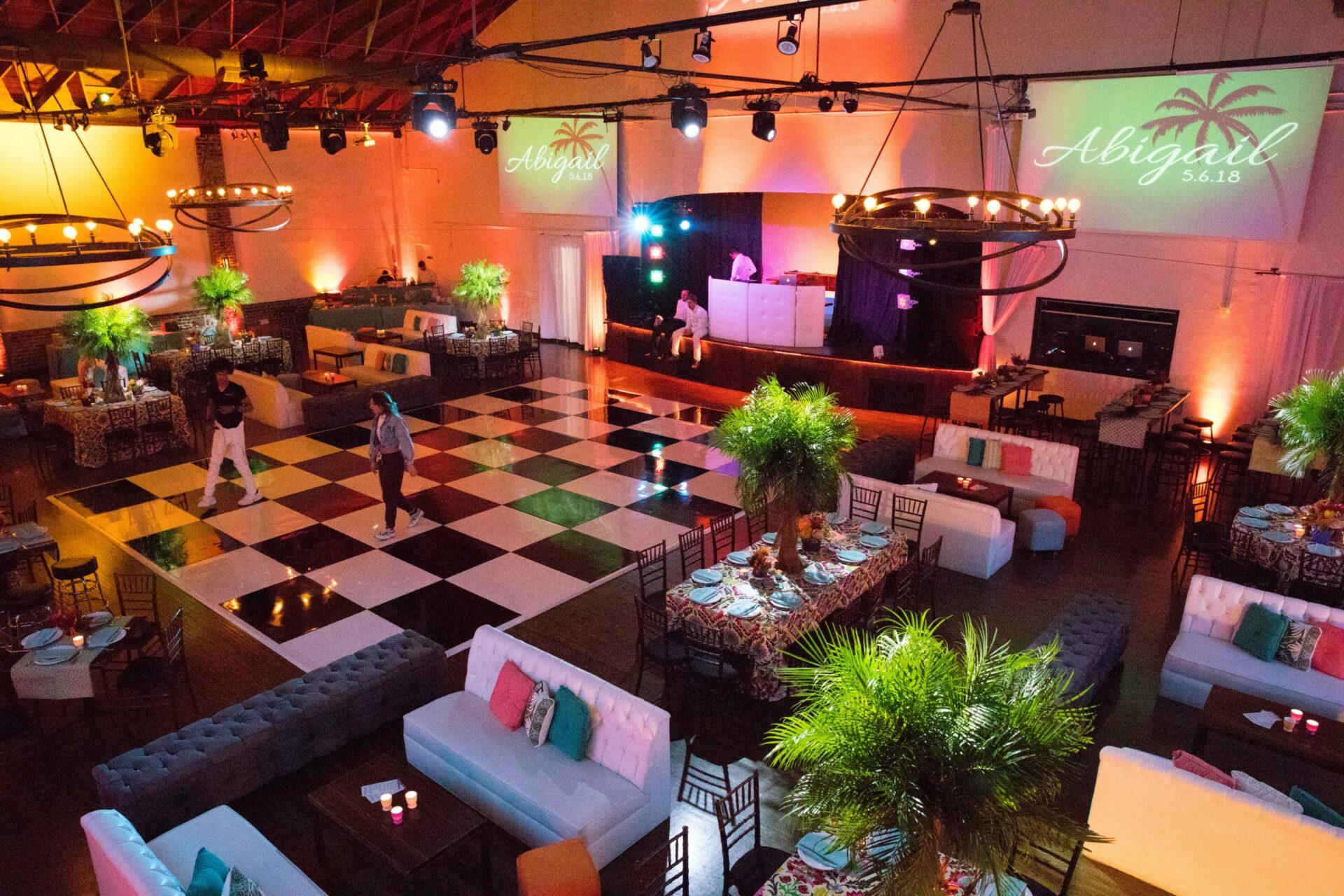 corporate party venues la