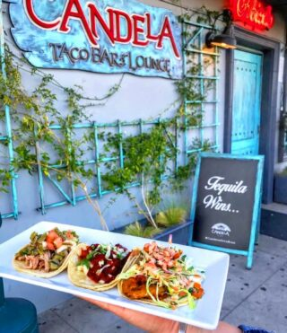 Let's Taco'bout it! 🌮 Come in for Taco Wednesday & enjoy our new tent under the lights & filled with greenery 🌿  Doors open at 5:00pm @candelaonlabrea   Takeout options are also available:  TUES-SUN⠀⠀⠀⠀⠀⠀⠀⠀⠀⠀ ⏰: 5:00 - 10:00pm  WAYS TO ORDER: 👇🏽⠀⠀⠀⠀⠀⠀⠀⠀⠀⠀ 📱: (323) 936-0533⠀⠀⠀⠀⠀⠀⠀⠀⠀ 💻: www.candelalabrea.com ⠀⠀⠀ 🚗: Delivery via @postmates   . . . . .  #dinela #lafoodies #latimesfood #infatuationla #yelpelite #eaterla #laeats #losangeleseats #eatla  #cheers #craftcocktails #happyhourathome   #drinkdelivery #drinkspecials #drinkspecial #cocktailstogo #togodrinks #togococktails #quarantinecocktails #foodtogo #cocktaildelivery #saverestaurants #supportlocal #supportsmallbusinesses #postmates #LAWins #Dodgers #worldseries #worldseries2020 #diadelosmuertos