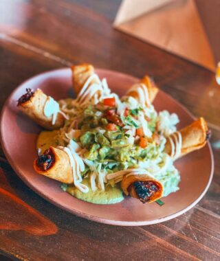 """Life is all about balance.. introducing our """"Taquitos Dorado de Pollo w/ Avocado Salsa"""" 🥑  Come in & join us this spooky weekend 👻  Dine in or order take out 🔥  Doors open at 5:00pm @candelaonlabrea   Takeout options are also available:  TUES-SUN⠀⠀⠀⠀⠀⠀⠀⠀⠀⠀ ⏰: 5:00 - 10:00pm  WAYS TO ORDER: 👇🏽⠀⠀⠀⠀⠀⠀⠀⠀⠀⠀ 📱: (323) 936-0533⠀⠀⠀⠀⠀⠀⠀⠀⠀ 💻: www.candelalabrea.com ⠀⠀⠀ 🚗: Delivery via @postmates   . . . . .  #dinela #lafoodies #latimesfood #infatuationla #yelpelite #eaterla #laeats #losangeleseats #eatla  #cheers #craftcocktails #happyhourathome   #drinkdelivery #drinkspecials #drinkspecial #cocktailstogo #togodrinks #togococktails #quarantinecocktails #foodtogo #cocktaildelivery #saverestaurants #supportlocal #supportsmallbusinesses #postmates #LAWins #Dodgers #worldseries #worldseries2020 #diadelosmuertos"""